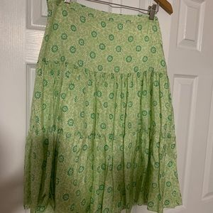 Banana Republic, floral skirt. Size 8